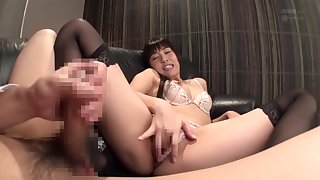 Hottest Japanese whore concerning Exotic Stockings, Teens JAV movie