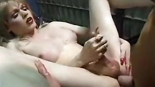 Black hole Sex With A MILF lady-man