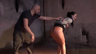 Predestined Up Bdsm Sub Toyed With Vibrator By Dom
