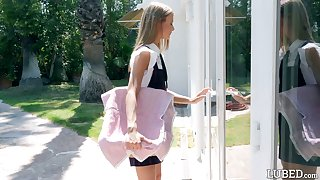 Diffident teen Asuna Fox gets intimate with the brush new well endowed neighbor