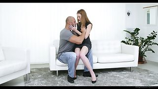 Red-hot haired pierced pussy be required of Linda Adorable is impaled on a hard big weasel words