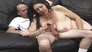 A Disturbing Porn Scene With A Grandma